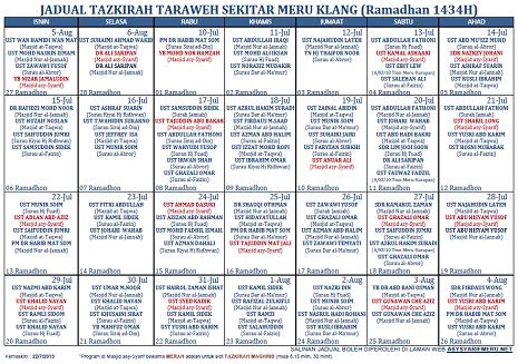 download jadual waktu berbuka puasa 2012