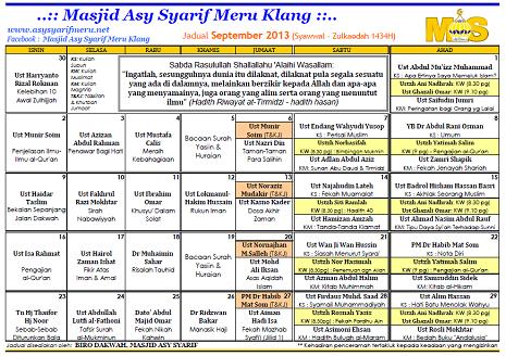 JADUAL MAS - 09-2013x