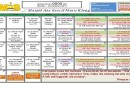 Jadual Kuliah/Pengajian Bulan Ogos 2016
