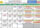 Jadual Kuliah/Pengajian Bulan September 2016