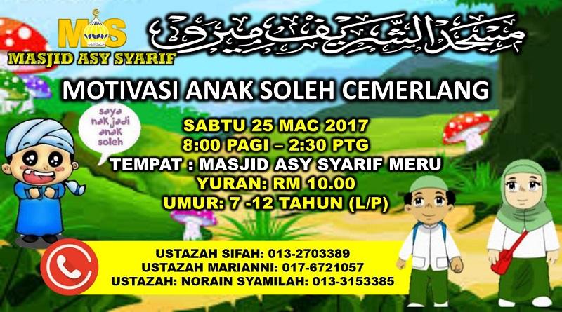 ANAK SOLEH 25MAC