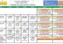 Jadual Kuliah/Pengajian Bulan April 2017
