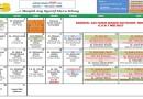 Jadual Kuliah/Pengajian Bulan Mei 2017