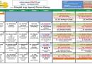 Jadual Kuliah/Pengajian Bulan JUlai 2017