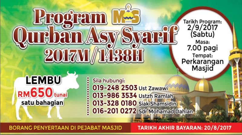 Program Qurban Asysyarif 2017
