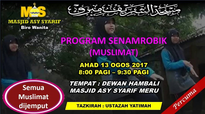 Program Senamrobik Muslimat