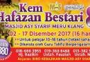 Kem Hafazan Bestari 2017