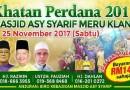 Khatan Perdana 2017