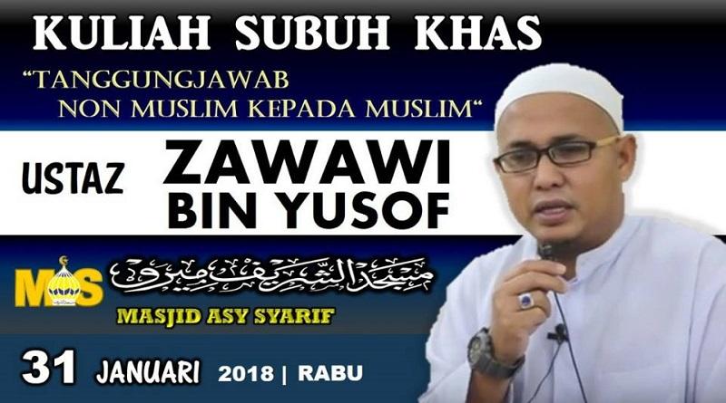 Kuliah Subuh Khas – Rabu 31 Jan 2018