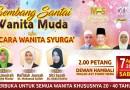 Bicara Wanita Syurga – Sabtu & Apr 2018