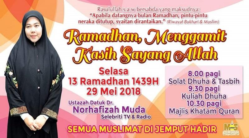 Program Khas Ramadhan Muslimat