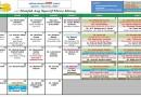 Jadual Kuliah/Pengajian Bulan Mei 2018