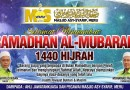 Ramadhan Al-Mubarak 1440H