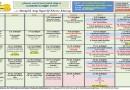 Jadual Kuliah/Pengajian Ogos 2019