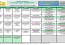 Jadual Kuliah/Pengajian Bulan Julai 2019