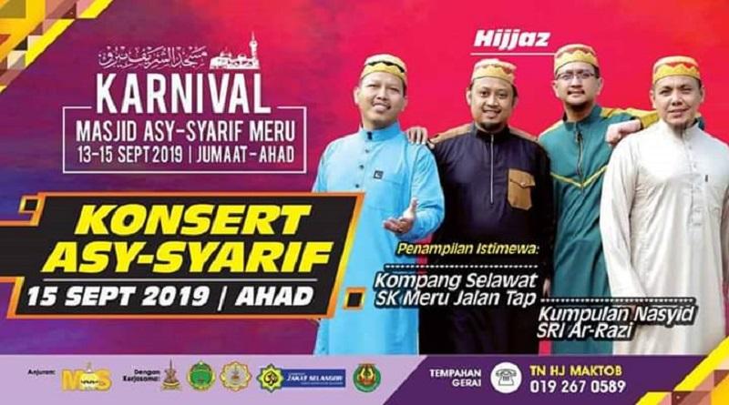 Karnival Masjid AsySyarif Meru 2019