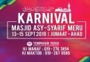 Karnival Masjid Asy-Syarif Meru 2019
