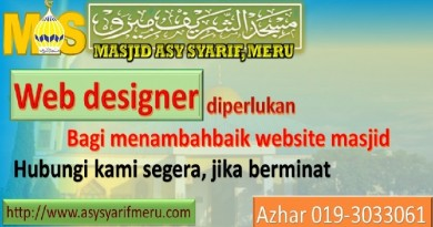 WebDesigner Diperlukan