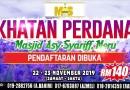 Khatan Perdana 2019