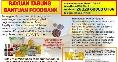 Rayuan Tabung Bantuan FoodBank