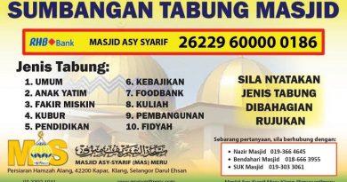 Sumbangan Tabung Masjid